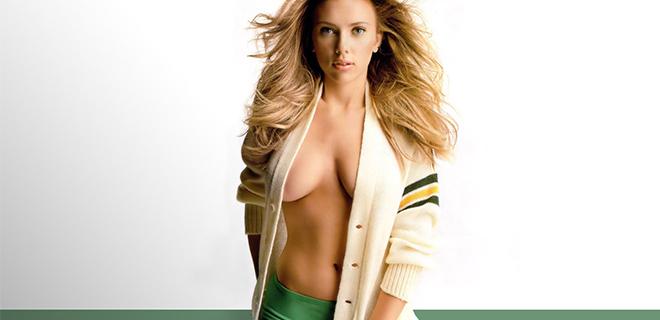 Dünyanın En Seksi Kadını Scarlett Johansson