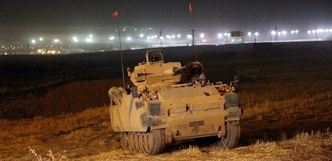 Türk ve Irak Askeri Haburda Gece Tatbikatı Yaptı