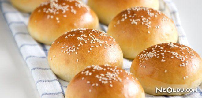 Ev Yapımı Burger Ekmeği Tarifi