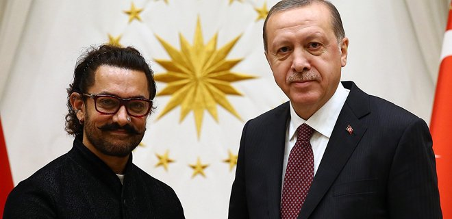 Cumhurbaşkanı Erdoğan, Khan'ı Kabul Etti!