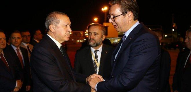 Erdoğan'ın Sırbistan Ziyareti Sona Erdi!
