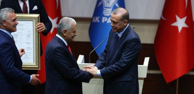 Erdoğan, Başbakan Yıldırım'ı Kabul Etti!