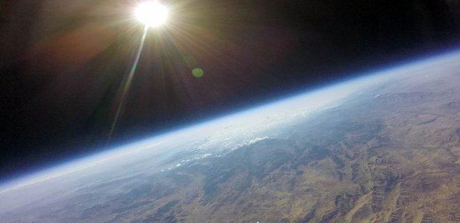 Yüksek İrtifa Balonu ile Uzaydan Görüntü Çektiler