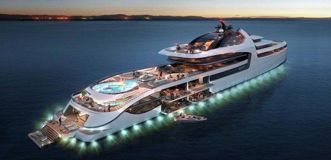 Denizlerdeki En Pahalı, En Lüks, En Büyük 20 Süper Yat!