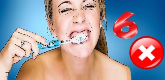 Diş Fırçalarken Yaptığımız 6 Hata