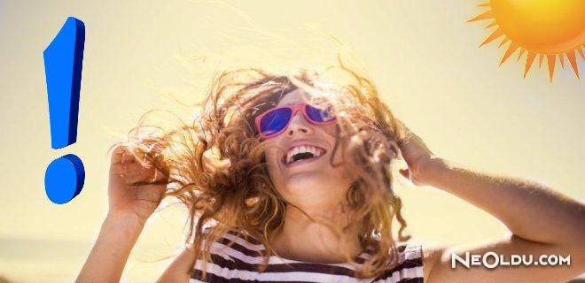 Yaz Aylarında Saç Bakımı Nasıl Yapılmalı