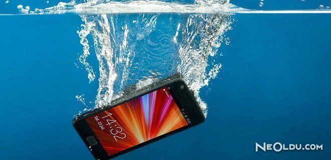 Suya Düşen Telefona Yapılması Gerekenler