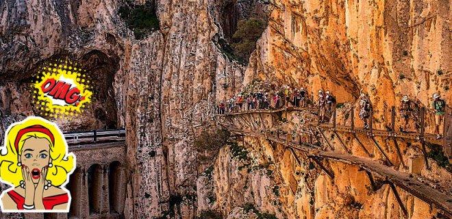 Dünyanın En Tehlikeli Yolu - El Caminito del Rey