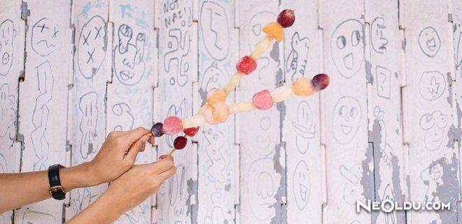 Dondurulmuş Meyve Çubukları Tarifi