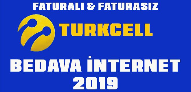 Turkcell Bedava İnternet Paketleri 2020 - Bedava İnternet Veren Uygulamalar