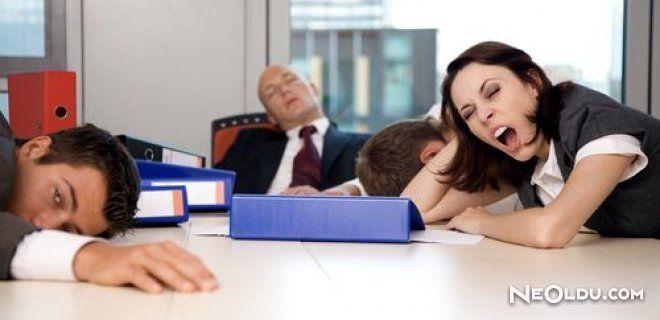 İş Yerinde Uyumak Verimi Artırıyor