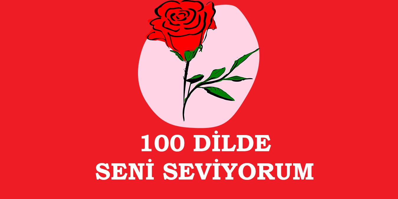 100 Dilde Seni Seviyorum -  Farklı Dillerde Seni Seviyorum Sözleri