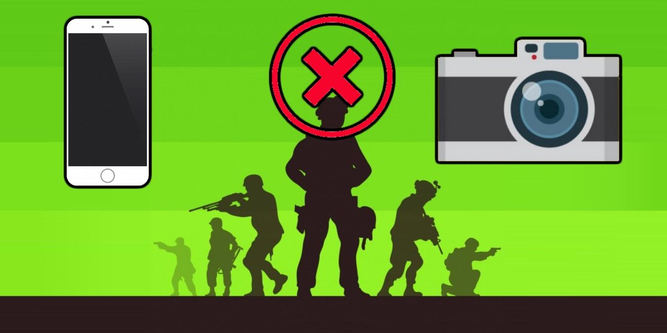 Askerde Kışlaya Sokulması ve Kullanılması Yasak Eşyalar