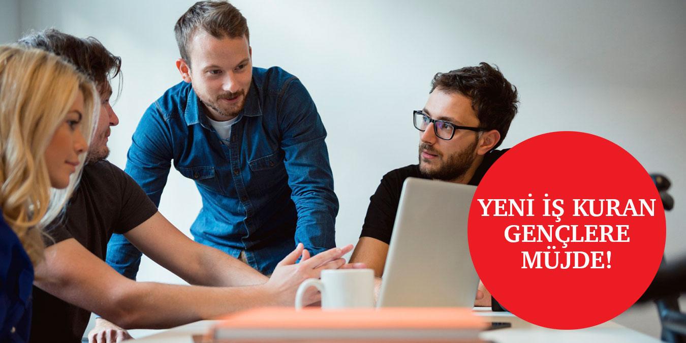 Girişimci Gençlere 3 Yıl Süreyle Vergi İstisnası