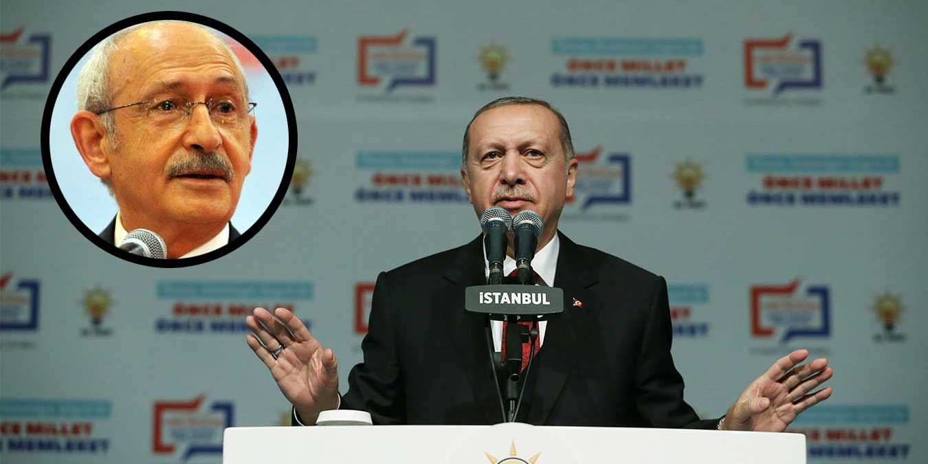 Cumhurbaşkanı Erdoğan: Kılıçdaroğlu, YPG'yi Savunuyor!