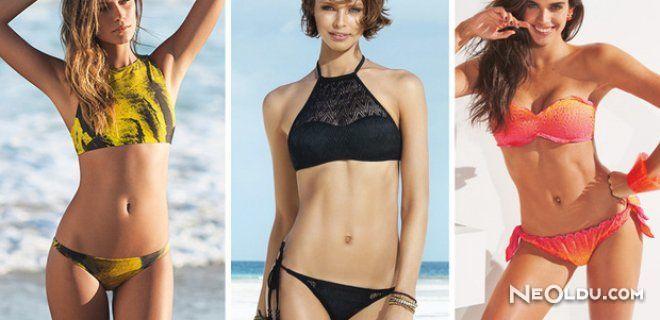 2015 İlkbahar Yaz Bikini Trendleri