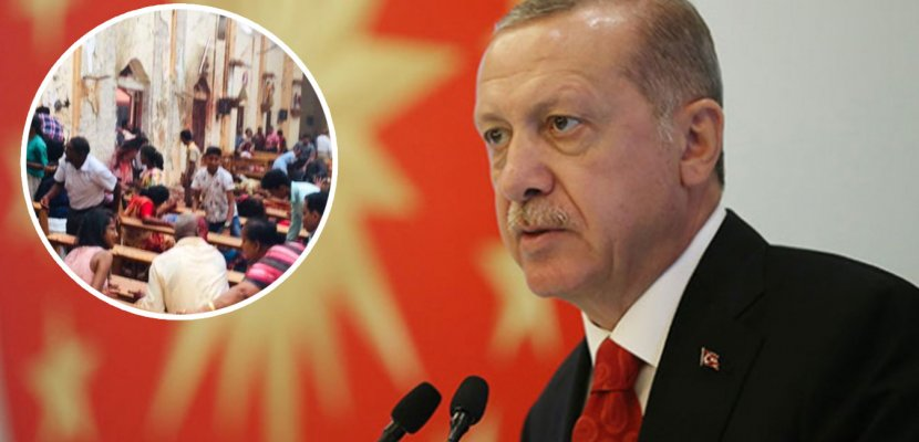 Cumhurbaşkanı Erdoğan'dan Sri Lanka'daki Bombalı Saldırıyla İlgili Açıklama