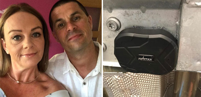 Ayrıldığı Eşinin Aracına Takip Cihazı Takıp Günlerce Takip Etti!