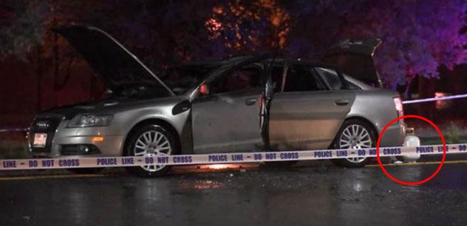 Yanan Arabanın İçinde Kalan 3 Yaşındaki Kız Hayatını Kaybetti!