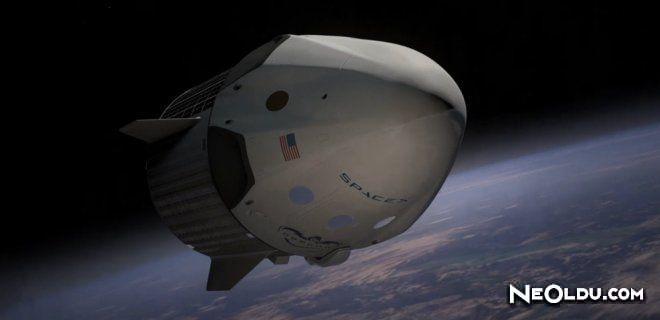 Yeni Nesil Uzay Aracından İlk İnsanlı Uçuş