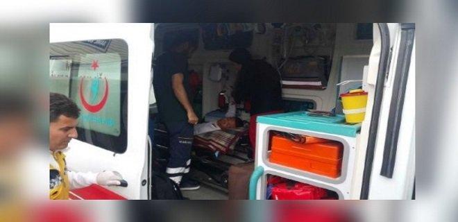 Elinden Yaralanan Filipinli Hastaneye Kaldırıldı