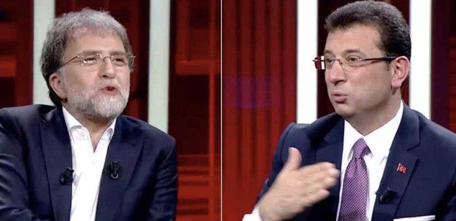 Ahmet Hakan ile Ekrem İmamoğlu Canlı Yayında Tartıştı