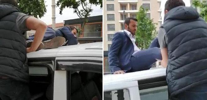 Öyle Bir Yerde Gözaltına Alındı ki! Uber Sürücüsünün O Anları Kamerada!