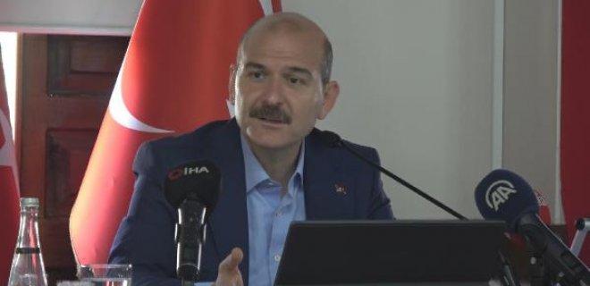 Bakan Soylu: Kutuderesi'nde Jandarma Özel Harekatımız Bir Mağarada 5 Teröristi Kıstırdı