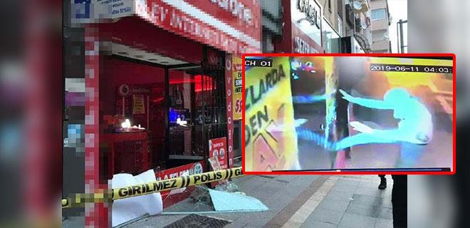 Camı Kırıp Telefonu Çalanlar Güvenlik Kameralarına Yakalandı!