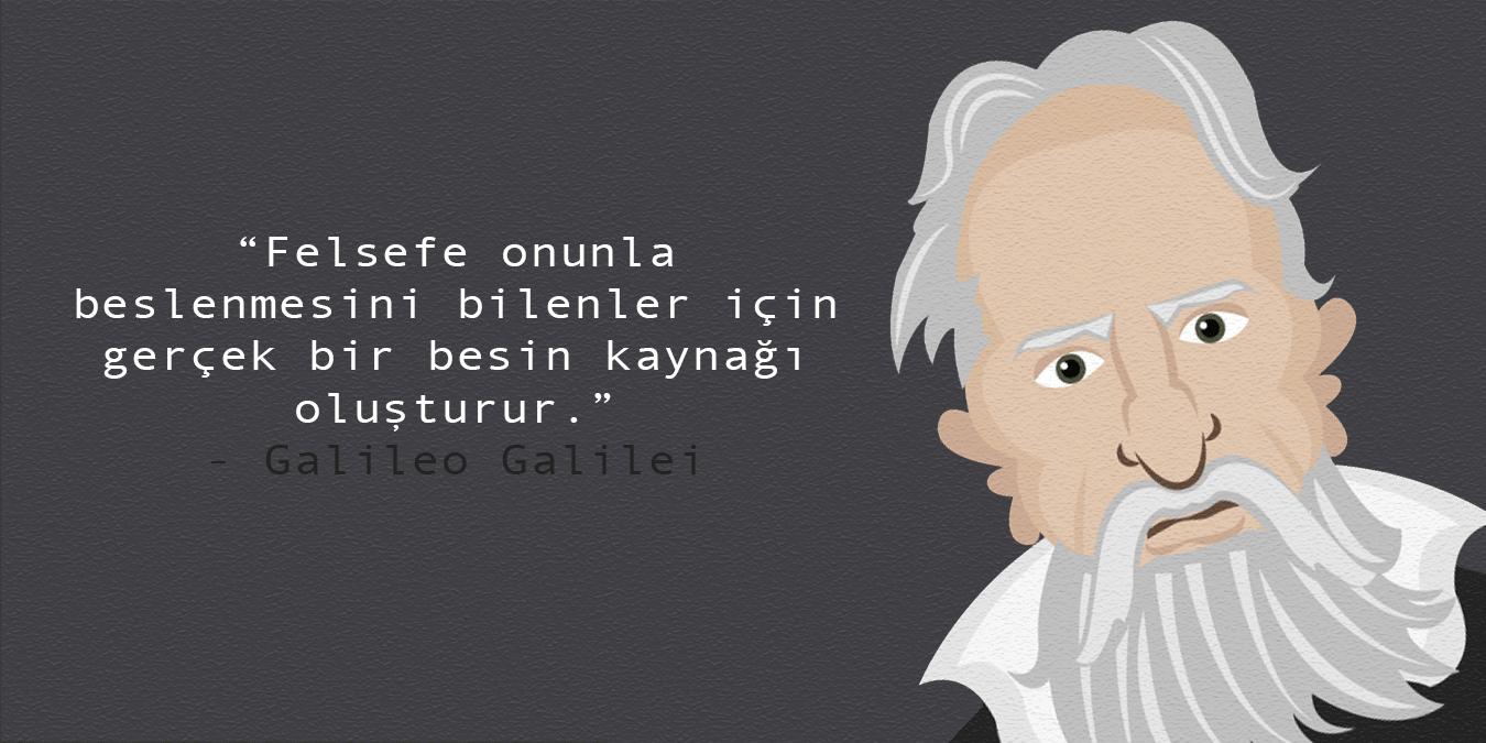 Galileo Galilei Sözleri - En Güzel, Anlamlı ve Etkileyici Galileo Galilei Eserlerinden Alıntılar