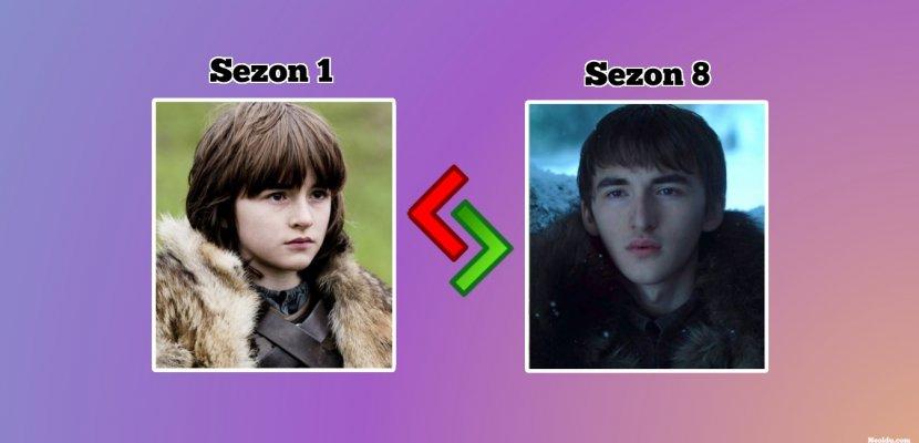 Değişimlerine Çok Şaşıracaksınız! Game Of Thrones Oyuncularının İlk ve Son Halleri!