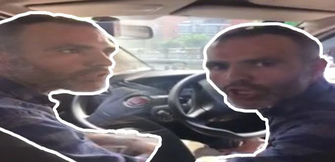 Taksici Dehşeti Kameraya Yansıdı! İşte Kadın Yolcunun Zor Anları!
