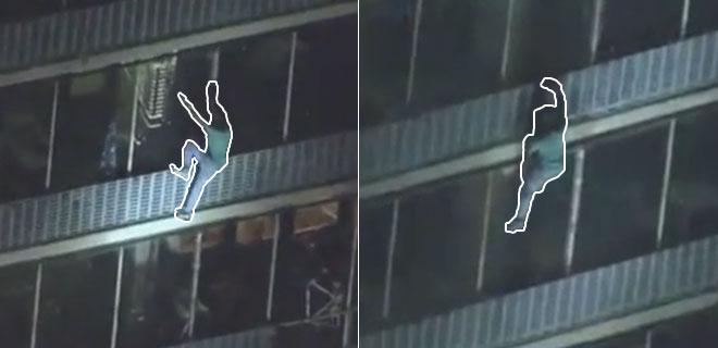 Örümcek Adam Gerçek Oldu! 19 Katlı Binadan Böyle İndi Tüm İzleyenler Şok Oldu!