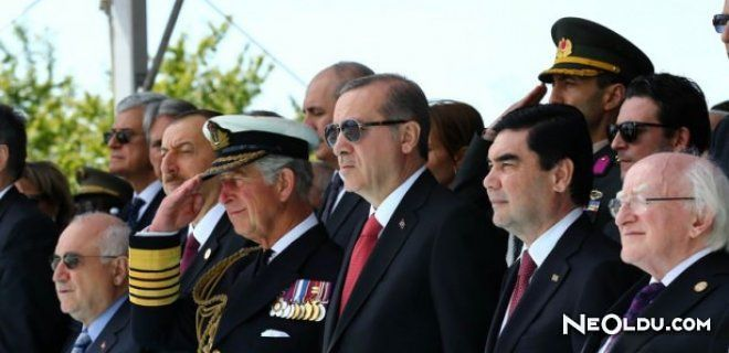Dünya Liderleri Çanakkale'de