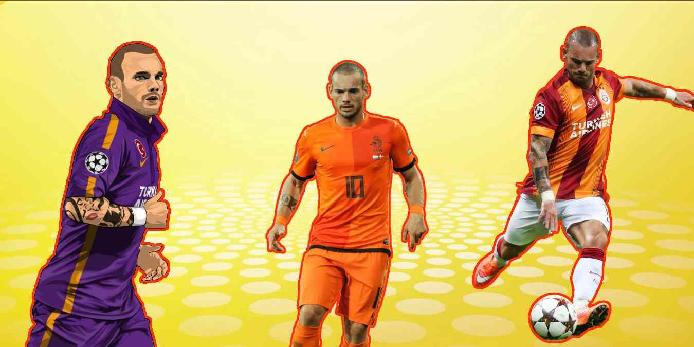Wesley Sneijder Hakkında Bilmeniz Gereken 10 Gerçek Bilgi!