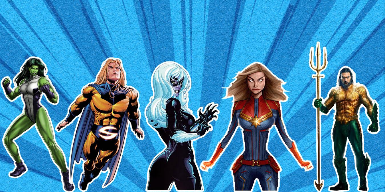 Az Bilinen En İyi 10 Süper Kahraman