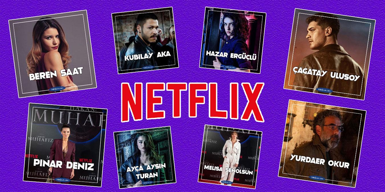 Netflix'te Rol Alan 18 Türk Oyuncu!