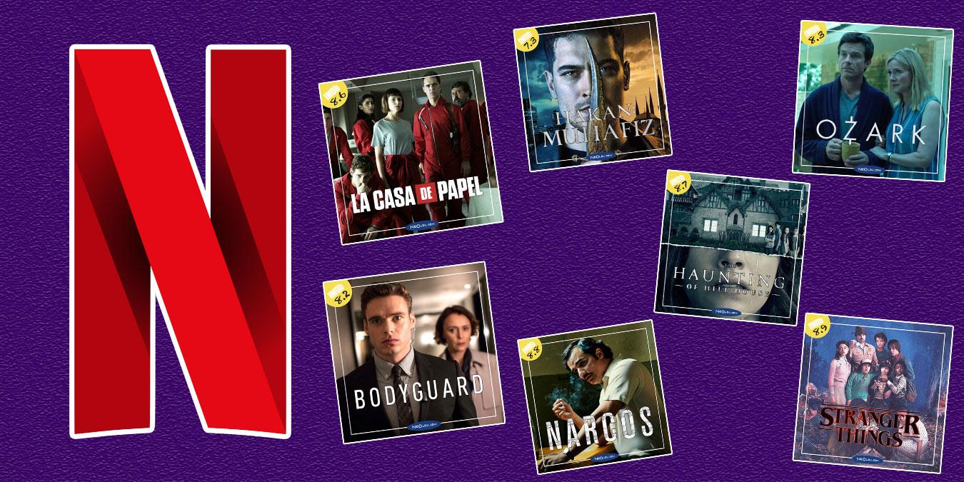 Türkiye'de En Çok İzlenen 10 Netflix Dizisi