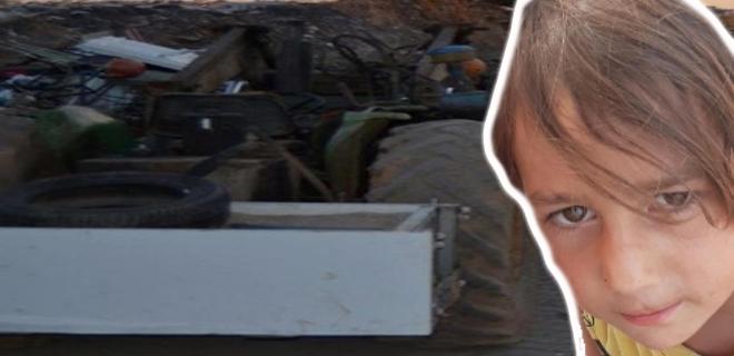 Babasına Yardım Etmeye Gitti, Yanlışlıkla Kardeşini Traktörle Ezdi!