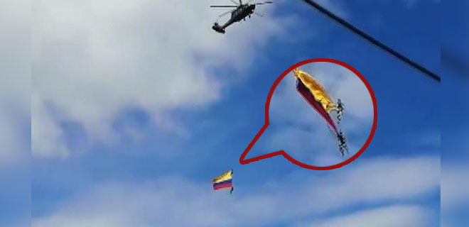 Gösteri Uçuşu Kabusa Dönüştü! Halatları Kopan Askerler Yere Çakıldı! İşte O Anlar…