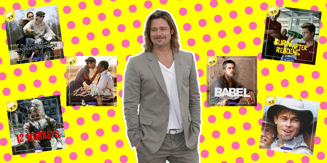 Brad Pitt Filmleri - IMDb Puanına Göre En İyi Brad Pitt Filmleri