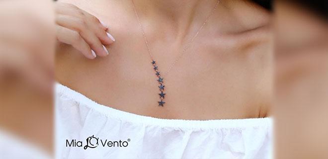 Gümüş Kolye Modelleri Mia Vento'da