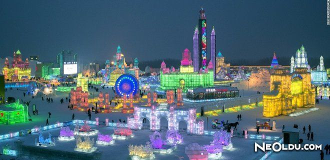 Harbin Buz ve Kar Heykeli Festivali (Harbin Ice & Snow Sculpture Festival)