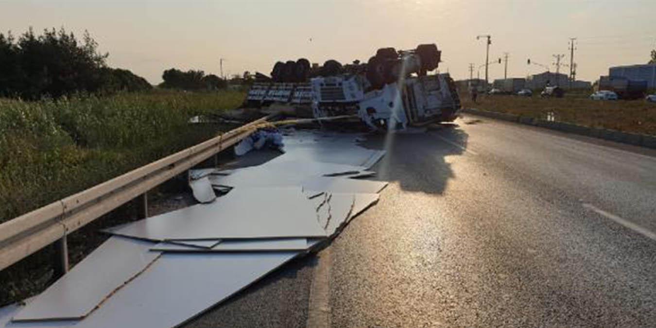 Otobanda Dehşete Düşüren Kaza: 4 Kişi Ağır Yaralandı! İşte Feci Kazadan Kan Donduran Görüntüler