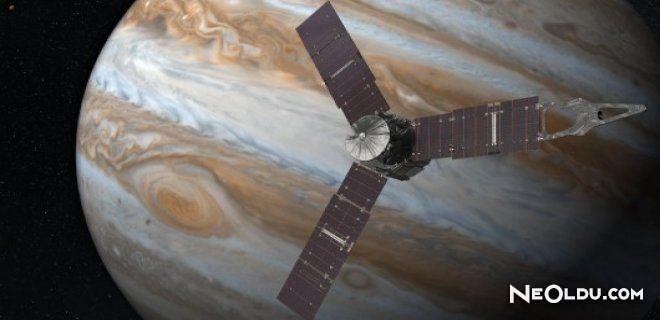 Juno Uzay Aracı Jüpitere Yolunda
