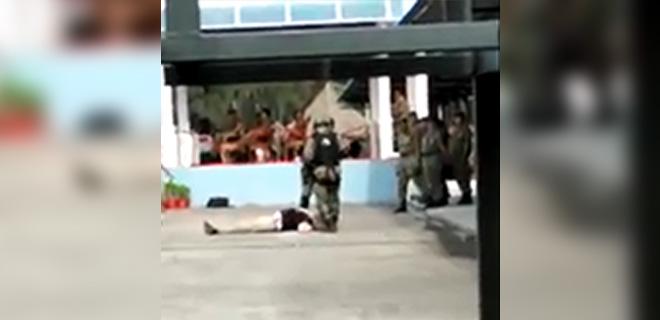 Vücut Zırhı Gösterisinde Binbaşı Hayatını Kaybetti! İnanılmaz Dakikalar Kameralarda…