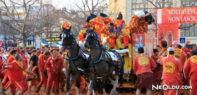 Portakal Savaşı Festivali (Battle of the Oranges)