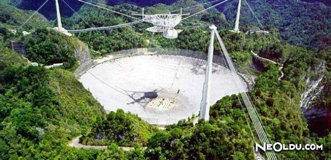 Dünyanın En Büyük Radyo Teleskopu Çin'de