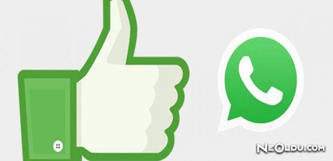 WhatsApp'a 'LIKE' Geliyor!