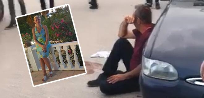 """Boşandığı Eşini Satırla Yaraladı, Polise """"Beni Kurtarın"""" Diye Yalvardı!"""